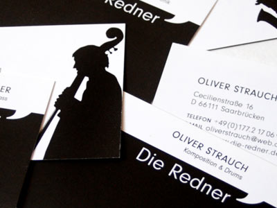 business cards for die redner